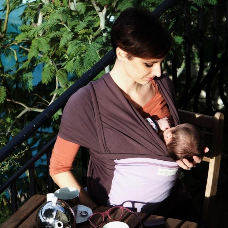 Vêtements de grossesse  écharpe de portage - portage physiologique ... 10e25ed7ed4