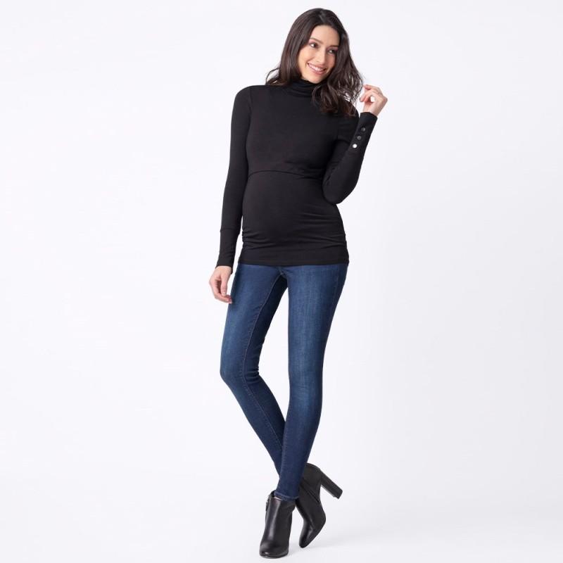 Jeans de grossesse strass