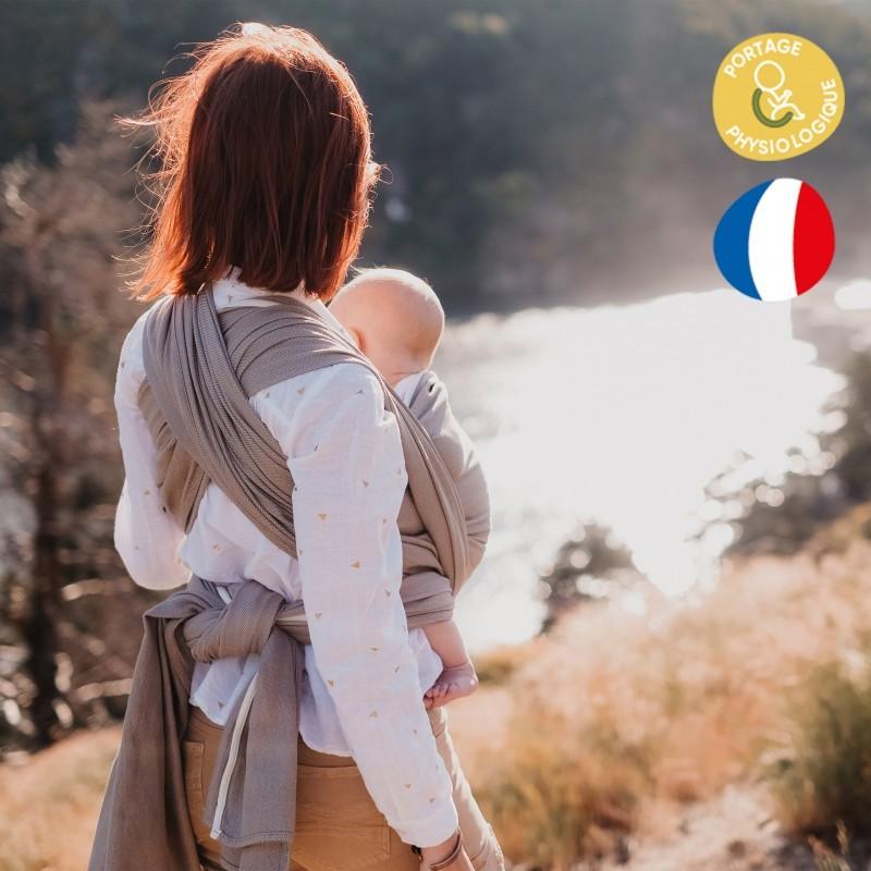 Robe de grossesse et d'allaitement Blanche