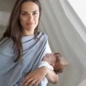 Chemise de nuit de grossesse et d'allaitement Jane