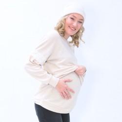Pull de grossesse et d'allaitement stripes